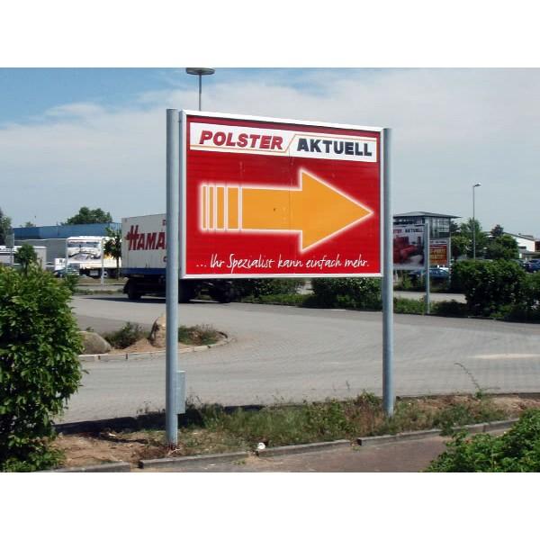 Hinweisbeschilderung-Infoboard-mit-Klapprahmen-Polster-Aktuell