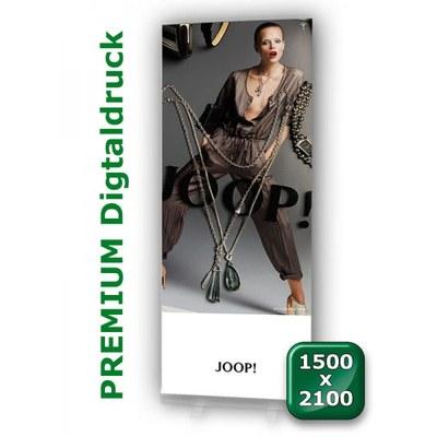 Grafikbahn Premium 1.500 mm Format: 1.500x2.100mm Banner 1500x2100 mm - grafikbahn-premium-1500x2100