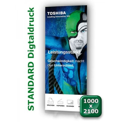 Grafikbahn Standard 1.000 mm Format: 1.000x2.100mm Banner 1000x2100 mm - grafikbahn-standard-1000x2100