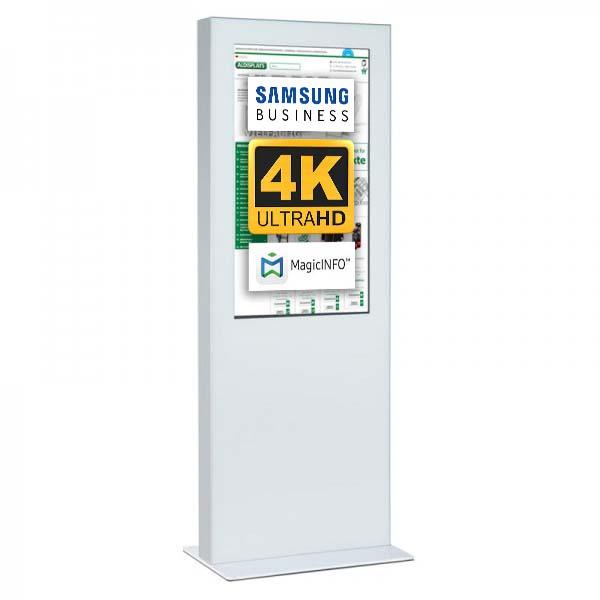 Digitale Infostele doppelseitig 50 zoll weiss 4K.jpg