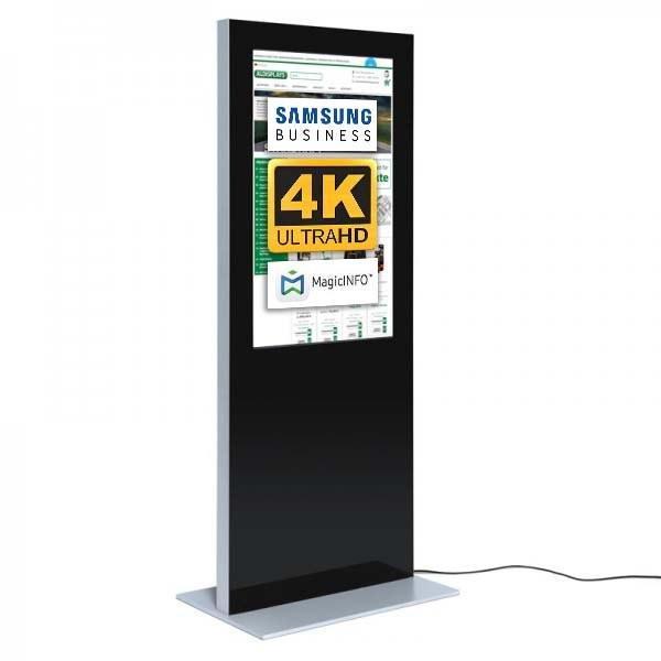 Digitale Infostele SLIM 50 Zoll schwarz 4K.jpeg