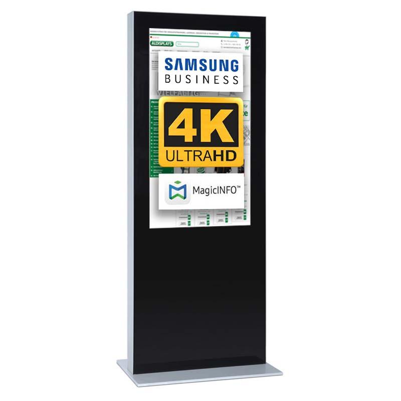 Digitale Infostele doppelseitig 75 zoll schwarz   4K.jpg