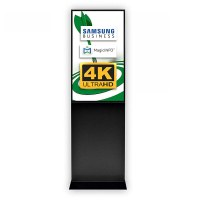Digital Signage Digitale Info-Stele TrendLine für den Inneneinsatz - Größe: 43 Zoll - 4K UHD Farbe: schwarz - Digitale Infostele TRENDLINE 4K swz