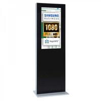 Digital Signage Digitale Info-Stele einseitig für den Inneneinsatz - Größe: 32 Zoll - Full HD Farbe: schwarz - Digitale Infostele einseitig 32 zoll schwarz