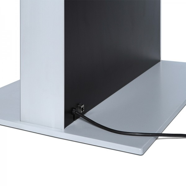 digitale infostele einseitig bodenplatte schwarz 4