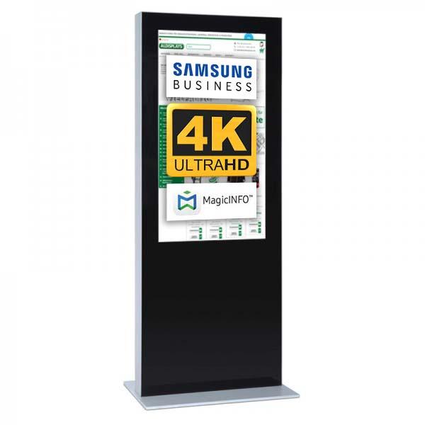 Digitale Infostele einseitig 65 zoll schwarz 4K.jpg