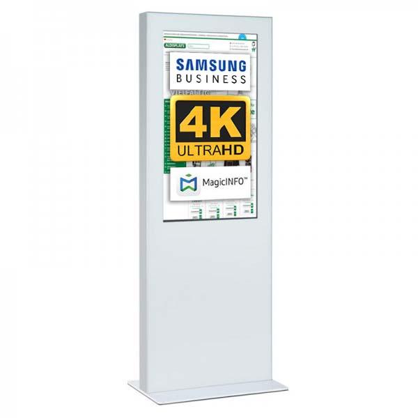 Digitale Infostele einseitig 43 zoll weiß 4K.jpg