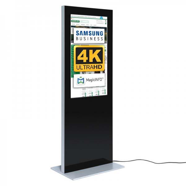 Digitale Infostele Slim einseitig 43 zoll schwarz 4K.jpg