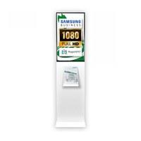 Digital Signage Digitale Info-Stele TrendLine für den Inneneinsatz - Größe: 32 Zoll - Full HD Farbe: weiss - Digitale Infostele TRENDLINE 32 w
