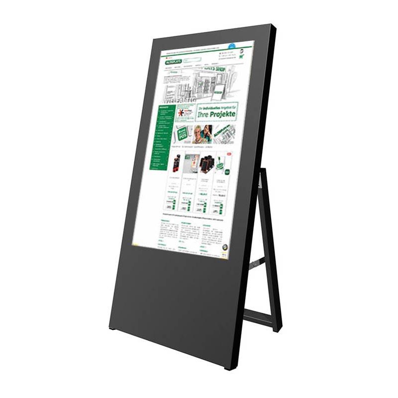 Digitaler Kundenstopper 32 Zoll schwarz2.jpg