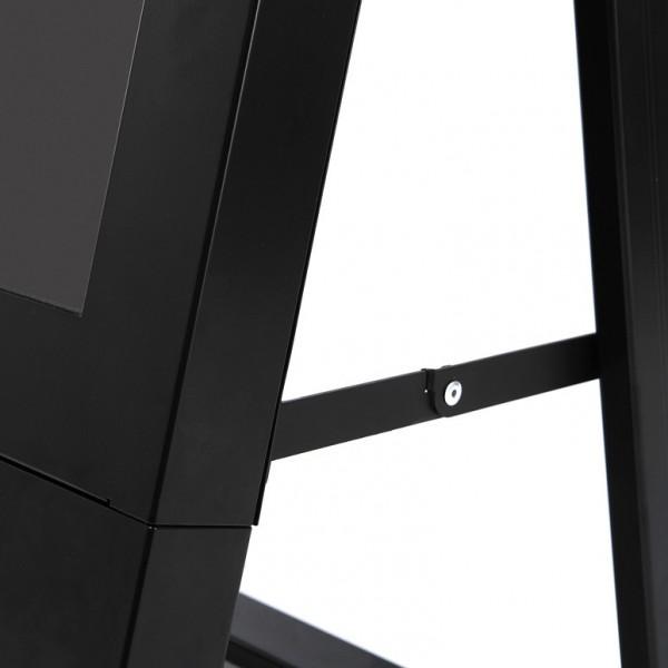 digitaler kundenstopper schwarz 43zoll detail2 3