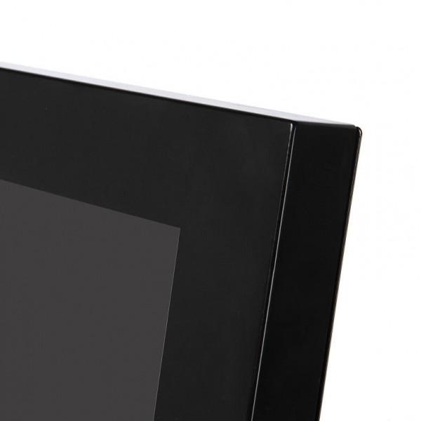 digitaler kundenstopper schwarz 43zoll detail 1