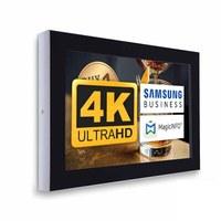 Digital Signage Digitales Info-Display - Querform. einseitiger 43 Zoll-Bildschirm - schwarz - 4K UHD zur Wandmontage - Digitale Info Display Querformat 43er 4K