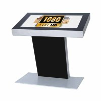Digital Signage Digitales Kiosk - Querformat einseitiger 32 Zoll-Bildschirm - schwarz - Full HD incl. Samsung-LED Display für den 16/7-Einsatz - Digitales Kiosk 32 zoll Full HD