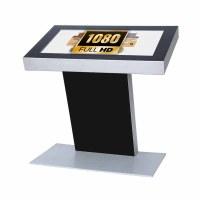 Digital Signage Digitales Kiosk - Querformat einseitiger 32 Zoll-Bildschirm - schwarz - Full HD incl. Samsung-LED Display für den 24/7-Einsatz - Digitales Kiosk 32 zoll Full HD