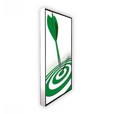 Digitales Poster TrendLine (Deckenmontage) einseitiger 43 Zoll-Bildschirm - weiss inkl. Deckenmontageset - digitales-poster-trendline-seite-ws