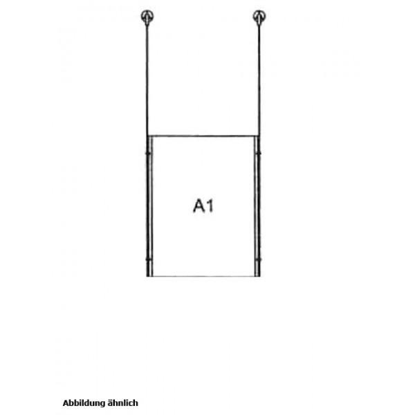 da-d-1xa1 - drahtseilsystem 1x din a1 hochformat decke