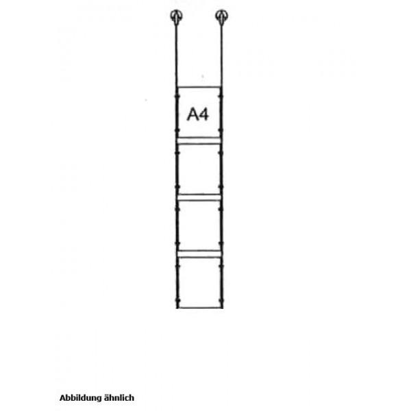da-d-4xa4 - drahtseilsystem 4x din a4 hochformat decke