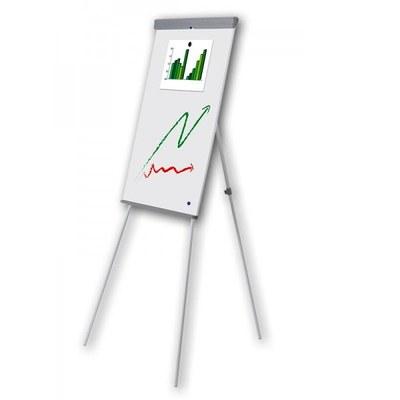 Flip-Chart ECO Whiteboard-Fläche: 680x1.000mm stufenlos verstellbares Dreibeinstativ - flip-chart-eco 1 1