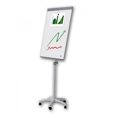 Flip-Chart PREMIUM Whiteboard-Fläche: 680x1.000mm stufenlos höhenverstellbares Stativ - flip-chart-premium 2
