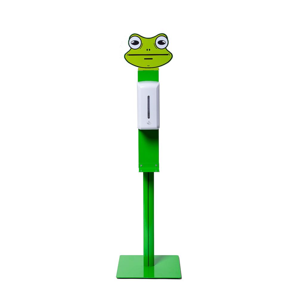 Desinfektionsständer KID Frosch Frontal.jpg