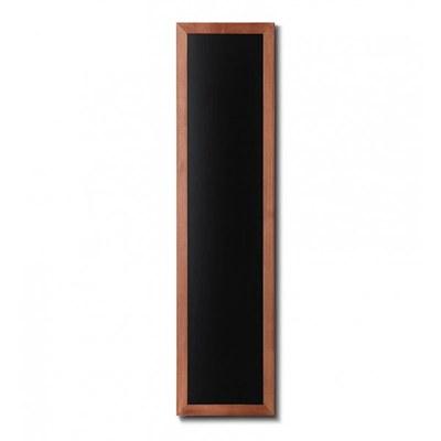 Holz-Wand-Kreidetafel (Profil: eckig) Format: 350x1500mm Farbe des Holzrahmens: hellbraun - Holz-Wand-Kreidetafel-eckiges-Profil-350x1500-hellbraun