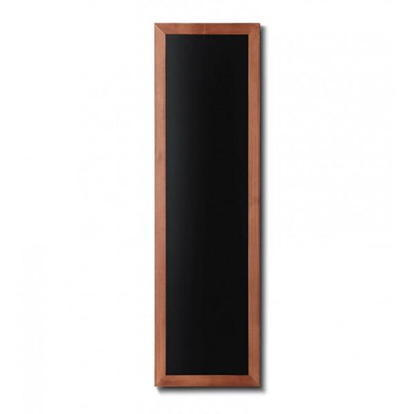 Holz-Wand-Kreidetafel-eckiges-Profil-400x1200-hellbraun