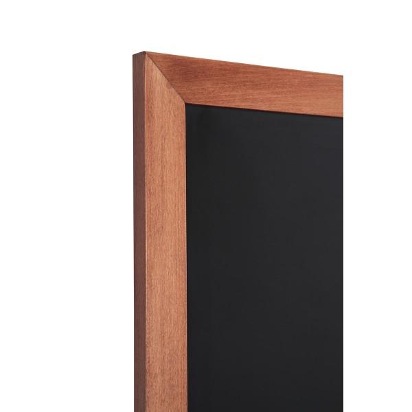 Holz-Wand-Kreidetafel-eckiges-Profil-hellbraun-Detail 2