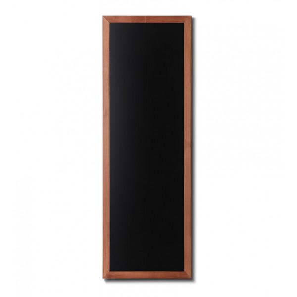 Holz-Wand-Kreidetafel-eckiges-Profil-560x1500-hellbraun