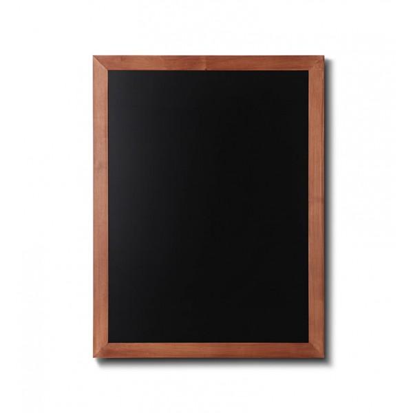 Holz-Wand-Kreidetafel-eckiges-Profil-600x800-hellbraun