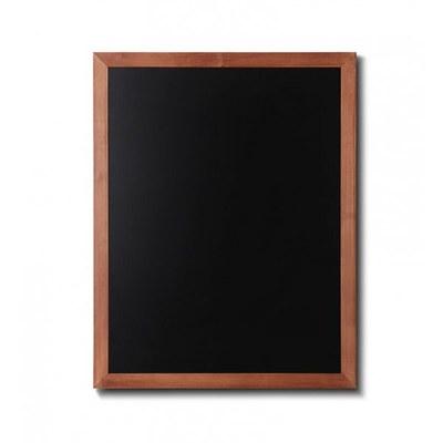 Holz-Wand-Kreidetafel (Profil: eckig) Format: 700x900mm Farbe des Holzrahmens: hellbraun - Holz-Wand-Kreidetafel-eckiges-Profil-700x900-hellbraun