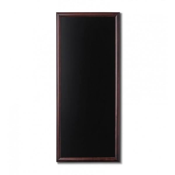 Holz-Wand-Kreidetafel-rundes-Profil-560x1200-dunkelbraun