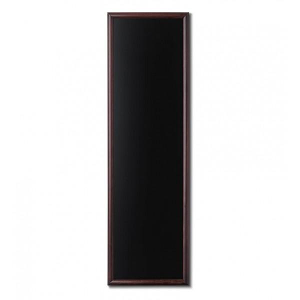 Holz-Wand-Kreidetafel-rundes-Profil-560x1700-dunkelbraun