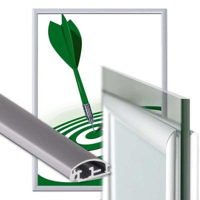 Klapprahmen Fenster Einlegeformat: DIN A0 (841x1.189 mm) Profil: 25mm Gehrung - Fenster Klapprahmen-25er-Profil-Gehrung