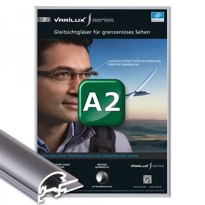 Klapprahmen Standard Einlegeformat: DIN A2 (420x594 mm) DIN A2 (420x594 mm) - Klapprahmen A2 15mm Gehrung