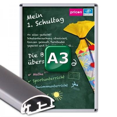 Klapprahmen Standard Einlegeformat: DIN A3 (297x420 mm) DIN A3 (297x420 mm) - Klapprahmen A3 25mm Rondo