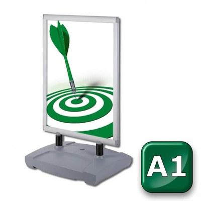 Kundenstopper Swing-Master PREMIUM Einlegeformat: DIN A1 (594x841 mm) DIN A1 (594x841 mm) - Kundenstopper-Swing-Master-DIN-A1-Standard