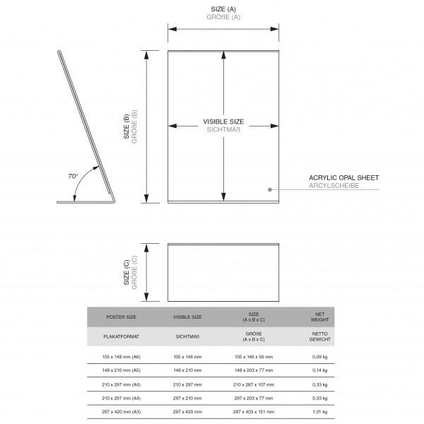 Dispenser-L-Aufsteller-DIN-A3-Hochformat-PLA-Zeichnung