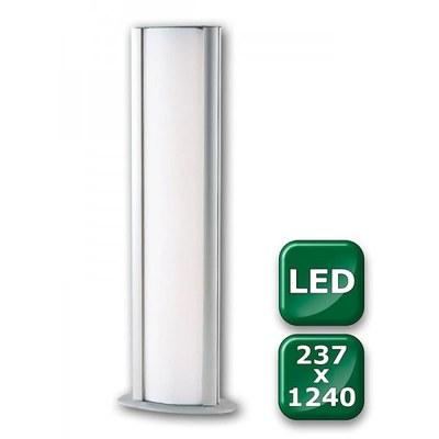 Leuchtsäule WAYLIGHT Einlegeformat: 237x1.240mm 237x1.240 mm - Leuchtkasten-Waylight-237x1240-LED