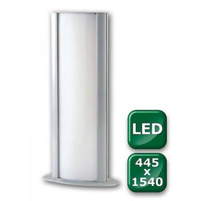 Leuchtsäule WAYLIGHT Einlegeformat: 445x1.540mm 445x1.540 mm - Leuchtkasten-Waylight-445x1540-LED