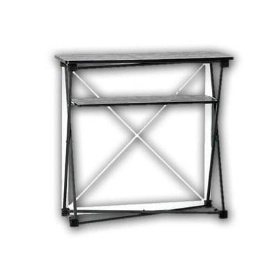 Promotiontheke Pop-Up TEXTIL mit Deckelplatte in SCHWARZ / OHNE Druck None - PT-T-S-o-D-PopUp-Textil 2