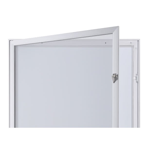 Schaukasten FLAT BT23 Indoor Outdoor Detail Offen