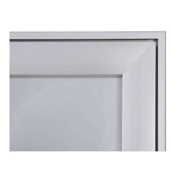 Schaukasten FLAT BT23 Indoor Outdoor Detail Eckverbindung 2