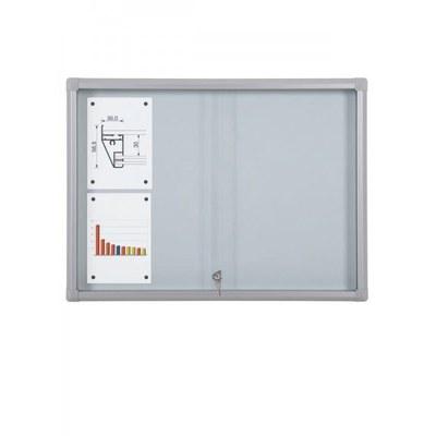 Schaukasten Schiebetür BT58 Indoor 4x2 DIN A4 (Außenformat: 940x675mm) 8x DIN A4 - Schaukasten Schiebet r BT58 Indoor 4x2
