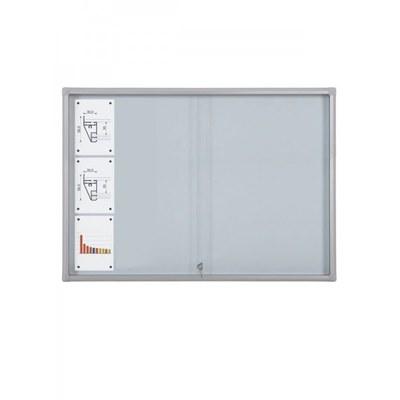 Schaukasten Schiebetür BT58 Indoor 6x3 DIN A4 (Außenformat: 1.380x982mm) 18x DIN A4 - Schaukasten Schiebet r BT58 Indoor 6x3