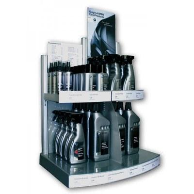 Sonderdisplays THEKE Individuelle Ausführung & Format None - Acryl-Aluminium-Display-BMW-Care