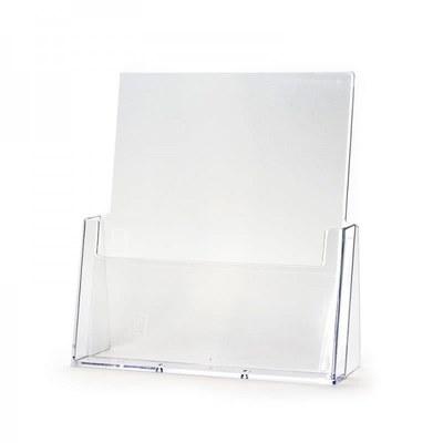 Tischständer - Einzel Einlegeformat: DIN A4 (210x297 mm) Anzahl Fächer: 1 - Dispenser-DIN-A4-Tisch-Hochformat-PRO200