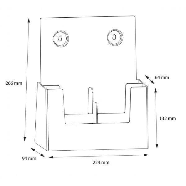 Dispenser-DIN-A4-2-fach-SEP01-Zeichnung