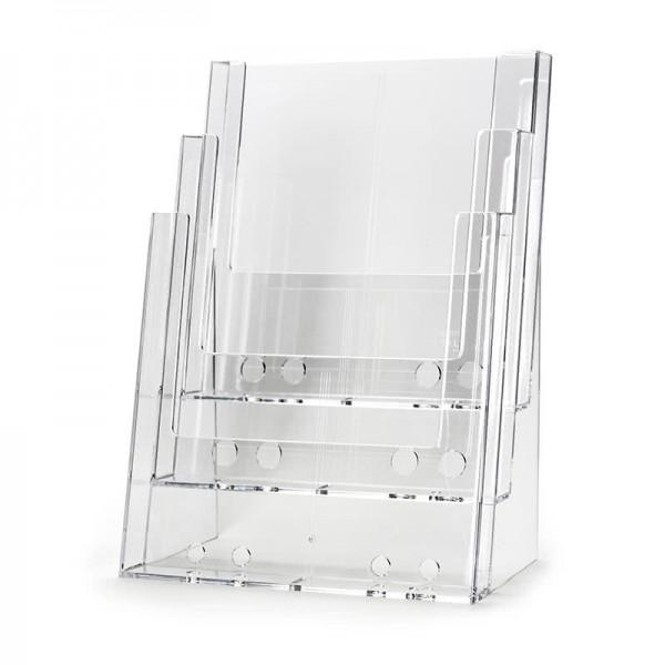 Dispenser-DIN-A4-3-fach-Tisch-Pro49