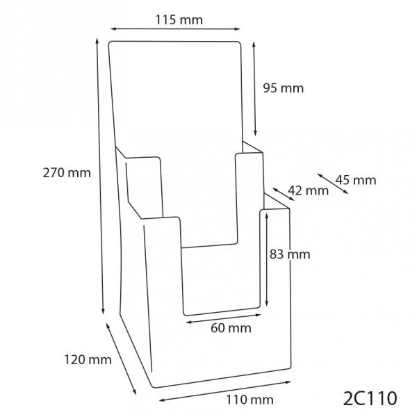 Dispenser-Lang-DIN-2x-Hintereinander-2C110-Zeichnung